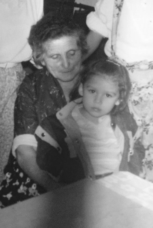 Filomena Poliseno con Aurelia Guerra